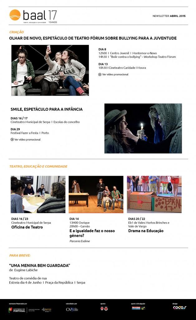 news Abril